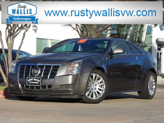 Pre Owned 2012 Cadillac Cts Base 2d Coupe In Garland V180560a