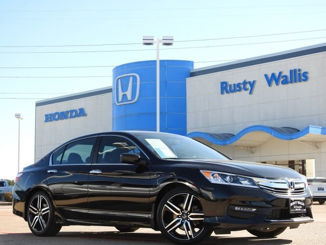 Pre-Owned 2016 Honda Accord Sport 2.4L I4 DOHC i-VTEC 16V