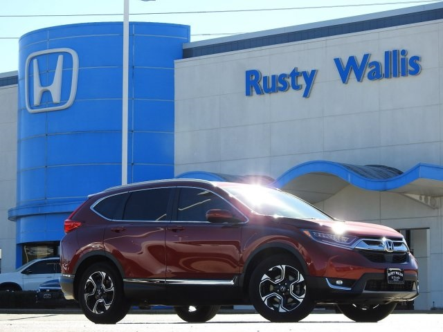 Pre-Owned 2018 Honda CR-V Touring 1.5L I4 DOHC 16V