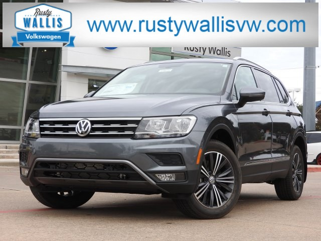 New 2019 Volkswagen Tiguan 2 0t Se Suvs In Garland V190133 Rusty