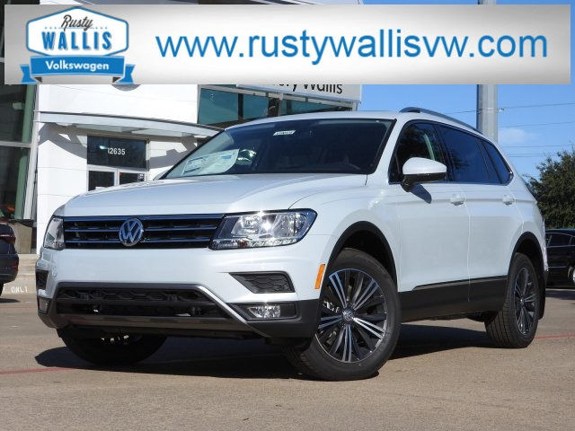New 2019 Volkswagen Tiguan Sel With 4motion Suvs In Garland