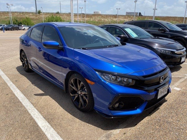 Pre-Owned 2019 Honda Civic Sport 1.5L I4 DOHC 16V