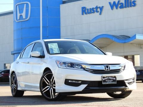 Pre-Owned 2017 Honda Accord Sport 2.4L I4 DOHC i-VTEC 16V