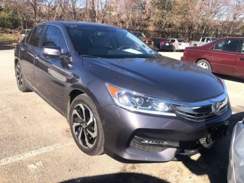 Pre-Owned 2017 Honda Accord EX-L 2.4L I4 DOHC i-VTEC 16V