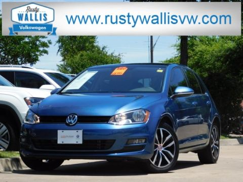 Certified Pre-Owned 2017 Volkswagen Golf TSI SE 4-Door