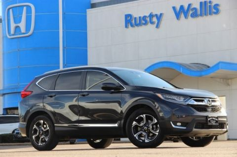 Pre-Owned 2017 Honda CR-V Touring 1.5L I4 DOHC 16V