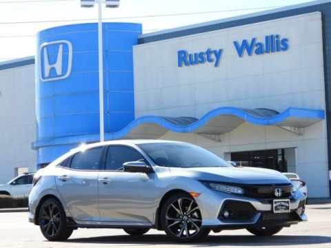 Pre-Owned 2018 Honda Civic Sport Touring